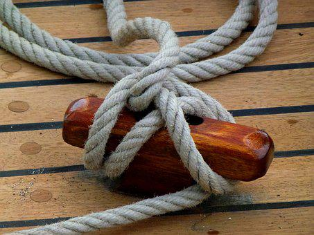 Maritime, Harness Lines, Ship, Boot, Seafaring, Rope