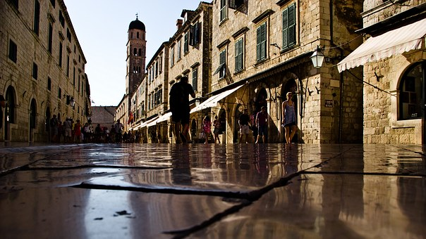 Shining Stone, Stone, Dubrovnik, Croatia, Europe, City