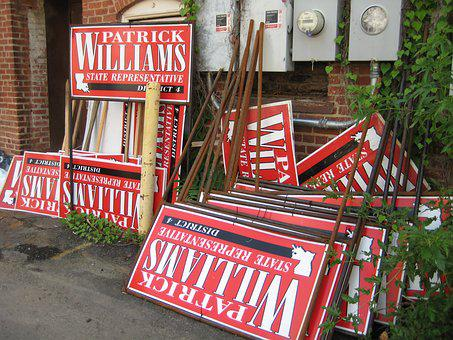 Campaign, Election, Signs, Political