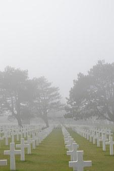 Cemetery, American Cemetery, Landing, Soldier, Soldiers
