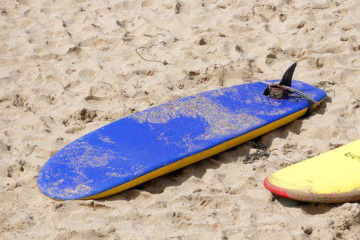 Beach, Surf Board, Surf, Surfing, Board, Summer, Sport