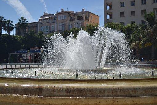 Granada, Brunne, Historic Center, Downtown, Spain