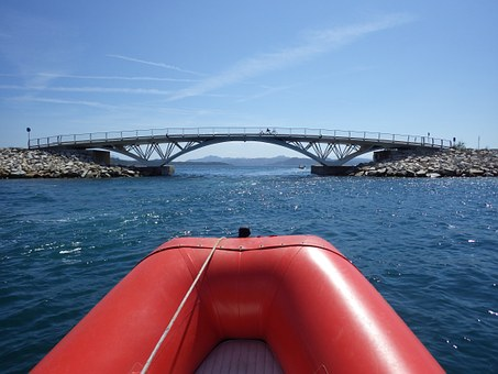 Bridge, La Maddalena, Caprera, Inflatable, Holidays