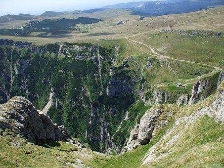 Mountain Landscape, Landscape, Abrupt