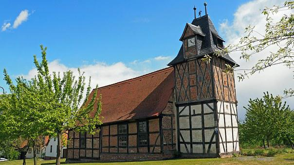 Old Church, Middle Ages, 1678, Old Building