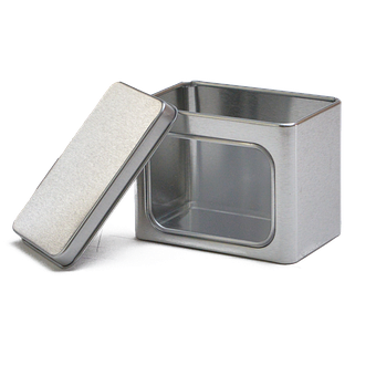 Tin, Can, Square Tin