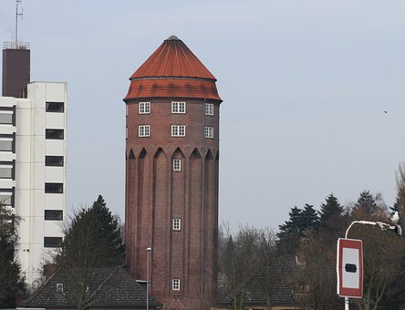 Water Tower Brunsbüttel, 1911, Building
