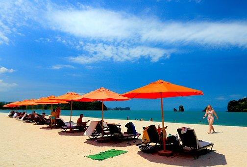 Beach, Hotel, Langkawi, Malaysia