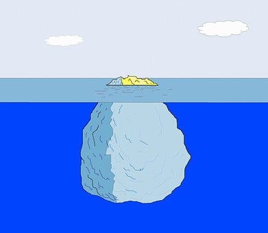 Iceberg, Ice, Arctic, I Iceberg, Snow, Climate Change