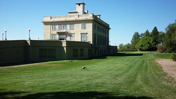 Maryhill Estate, Washington, Usa, House, Manor, Mansion