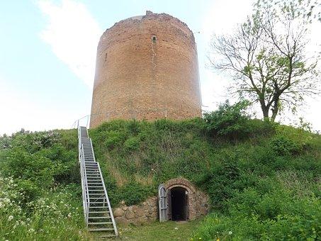 Angermünde, Stolper Tower, Gruetzpott, Castle