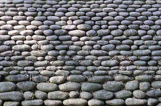 Pierre, Roller, Wall, Garden, Japanese, Japanese Garden