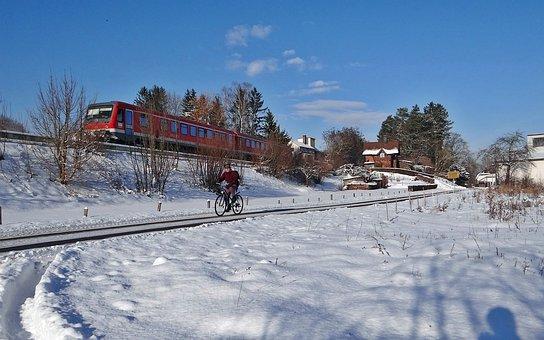 Vt 628 Units, Gerschweiler, Winter