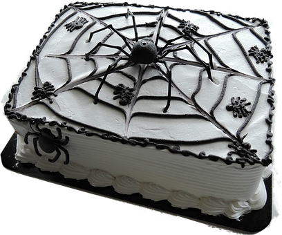 Isolated, Cake, Halloween, Delicious, Food, Decoration
