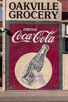 Oakville, California, Sign, Advertisement, Nostalgia
