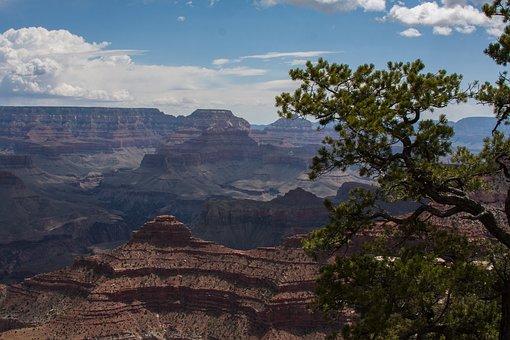 Grandcanyon, Nature, Landscape, Canyon, Vista, Scenic