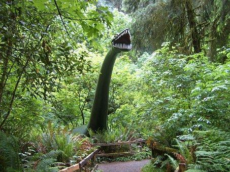 Prehistoric Gardens, Dinosaur, Port Orford, Oregon