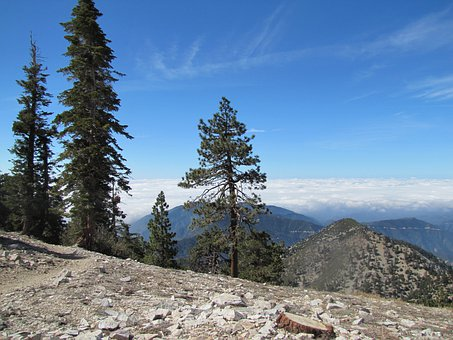 Mt Baldy, California, Hiking, Hike, Landscape
