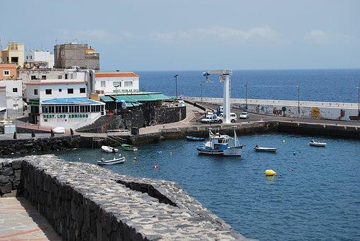 Tenerife, Los Abrigos, Fishing Village