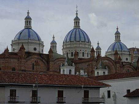Cuenca, New Cathedral, Ecuador, Cathedral, Architecture