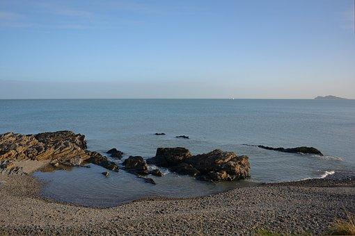 Coast, Sea, Malahide, Ocean, Ireland, Coastal, Atlantic