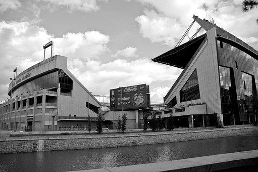 Vicente Calderón, Stadium, Football, Spain