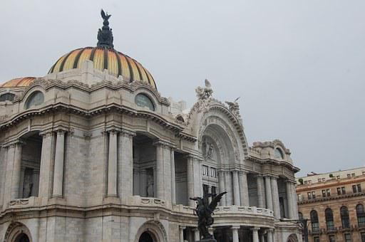 Palace, Architecture, Mexico, Museum, Marble, Tourism
