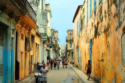 Havana, Street, Cuba