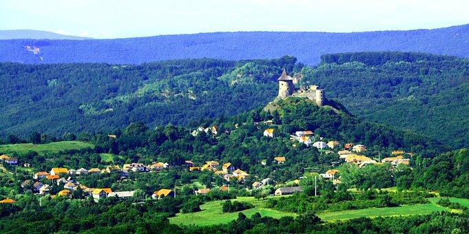 Hungary, Mountains, Roya Saadat Castle
