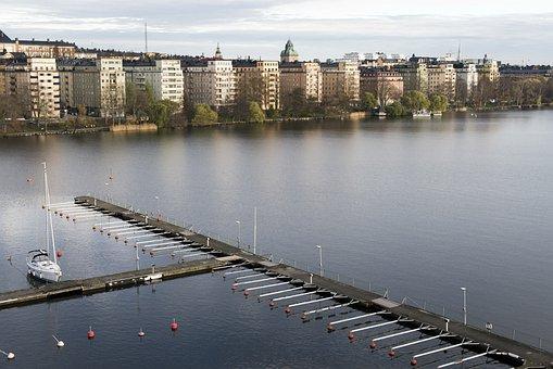 Stockholm, Views, Sweden, Water