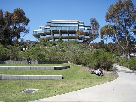 Ucsd, Library, San Diego, Geisel Library, California