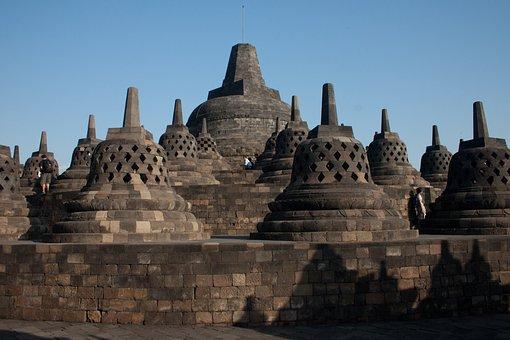 Indonesia, Bropudur, Java