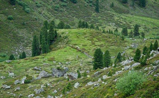Austria, Landscape, Valley, Hills, Mountains, Ravine