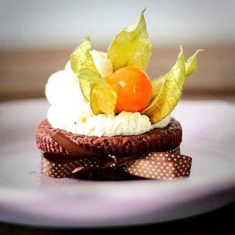 Kladdkaka, Chocolate, Berry