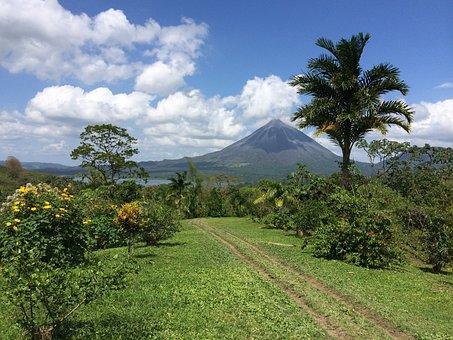 Travel, Volcano, Costa Rica, Adventure