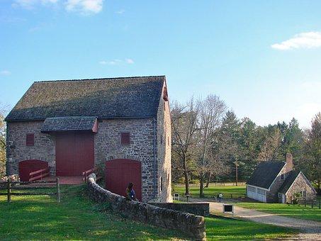 Pennsylvania, Barn, Farm, Rural, Rustic, Female, Sky