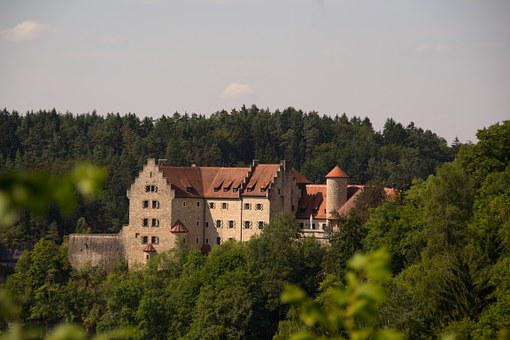 Burg Rabenstein, Castle, Middle Ages, Forest, Landscape