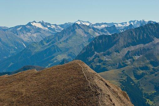 Austria, Mountains, Landscape, Scenic, Snow, Valley