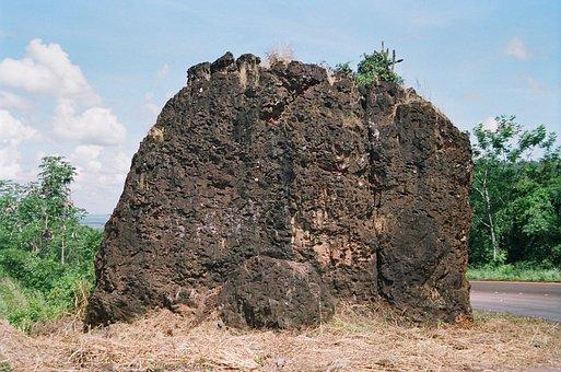 Stone, Single, Tangará Da Serra, Nature
