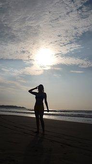 Pedernales, Ecuador, Beach, Sea, Sun, Girls