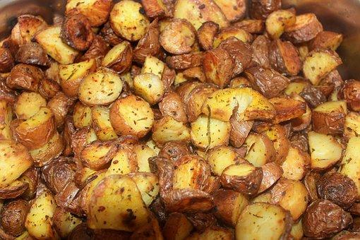 Baked, Potato, Rosemary