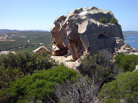 Capo D'orso, Sardinia, Rock