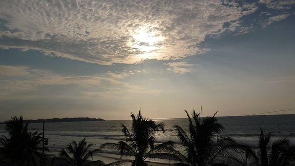 Pedernales, Sun, Beach, Sea, Sand, Ecuador