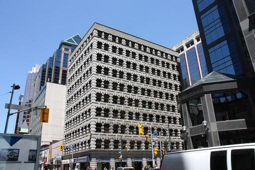 Toronto, Building, Downtown, Town Center, City