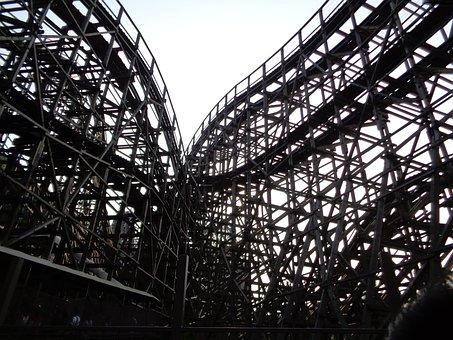 Roller Coaster, Tea Express, Everland, Amusement Park