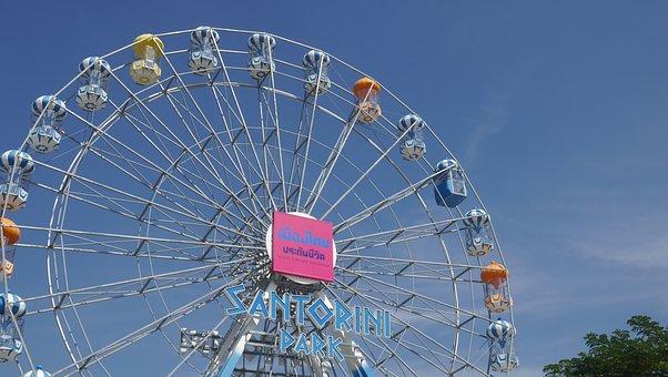 Thailand, The Ferris Wheel, Amusement Park, Hua Hin