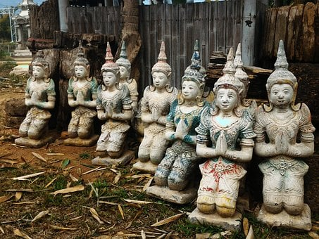 Doll, Statue, Angel, Angels, Religion, Thailand, Luck
