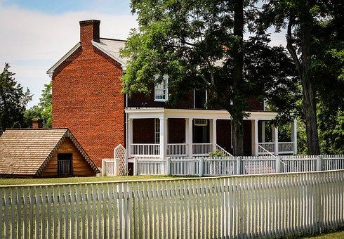 Appomattox Court House, Mclean House, Surrender Site