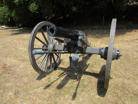 Cannon, Civil War, Military, Army, Ordnance, Artillery