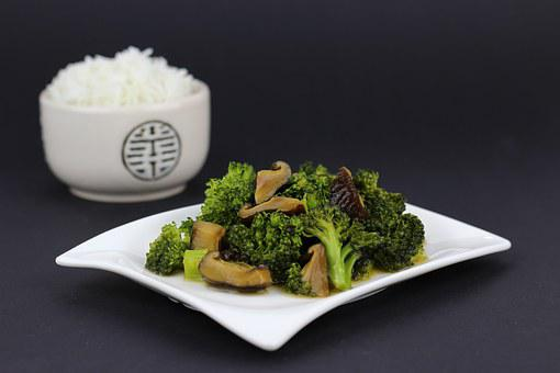 Wok Dish, Asia, Rice, Eat, Chinese, Fry Up, Cook